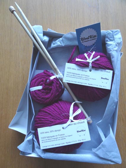 Woolkiss kit contenu ambrefield for Porte de versailles salon formation artistique