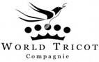 Logo de la Maison de création française : World Tricot, spécialisée dans la maille, Copyright World Tricot
