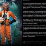 Mon profil/mon identité de personnage Stars Wars : Twi'Lek femelle, résultat du test obtenu après avoir répondu aux questionnaires de l'exposition